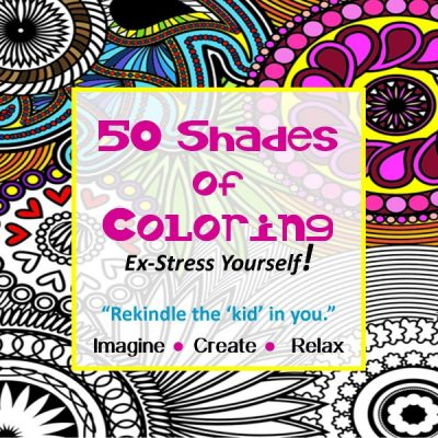 50 Shades of Coloring: Heart & Soul Event