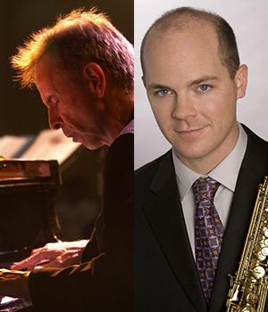 Damon Zick, saxophone & Bill Cunliffe, piano