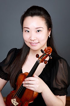 Fangye Sun, violin