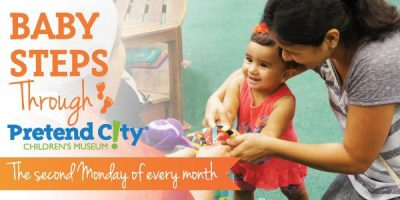 Baby Steps through Pretend City! – Monthly Theme: Babies First Foods