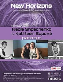 Nadia Shpachenko & Kathleen Supove, Piano Duo