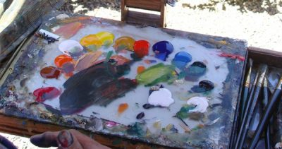 Art Demonstration with Gill Dellinger | The Magic of Acrylic