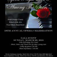Opera Night 2016: Among the Stars