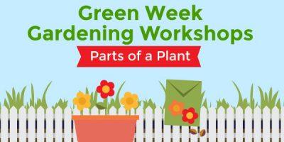 Green Week Gardening Workshops with UCCE Master Gardeners