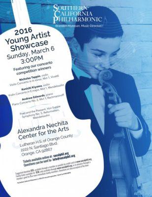 Young Artist Showcase Concert