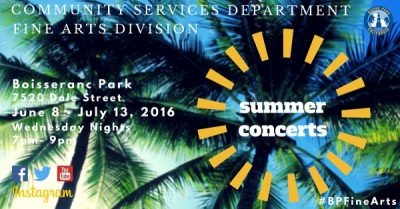 Summer Concerts in the Park featuring Desperado!