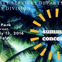 Summer Concerts in the Park featuring Aquarius, The Ultimate Tribute to the Summer of Love!