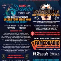 DanceVoteWin Dance Performance Competition & Celebrity Event