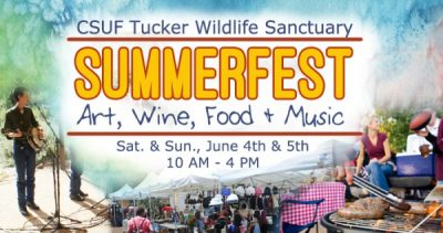 SummerFest at Tucker Wildlife Sanctuary