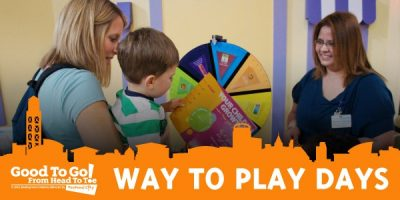 Way to Play Day, A Package of Learning! Exhibit Focus: Art Studio