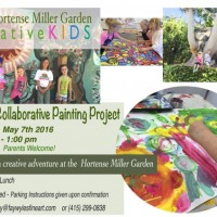 Free Creative Kids Painting Workshop at the Hortense Miller Garden