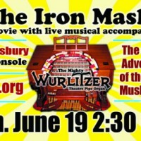 Silent Movie THE IRON MASK with live Wurlitzer accompaniment