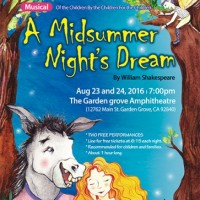 The Young SOC Company presents A Midsummer Night's Dream